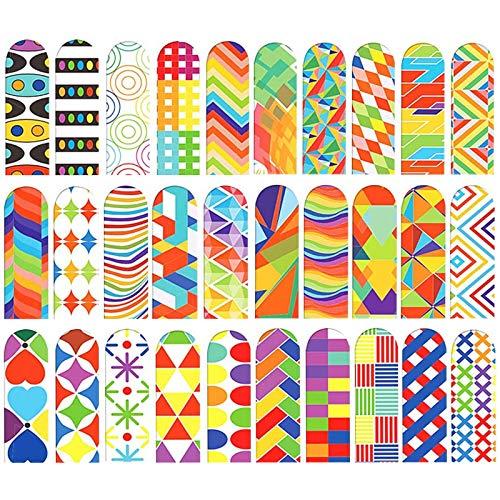 30 segnalibri magnetici ottici, magnetici, colorati, cancelleria da ufficio, bambini, segnalibri magnetici, segnalibri, per studenti, per ufficio