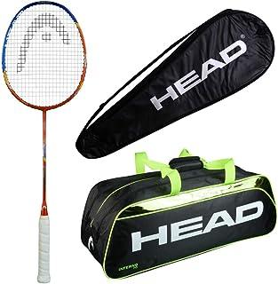 HEAD Head Airflow 2000 Badminton Racquet Set with Inferno 70 Green kitbag