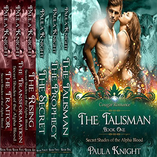 Cougar Romance: Secret Shades of the Alpha Blood Series - The Complete Collection Set 1-6 audiobook cover art