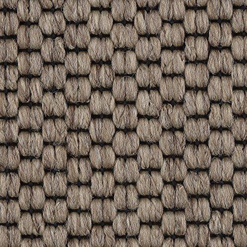Teppichboden Auslegware | Sisal-Optik Schlinge | 400 und 500 cm Breite | beige braun | Meterware, verschiedene Größen | Größe: 4,5 x 5 m