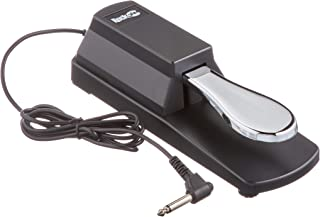 RockJam Universal Sustain Pedal for Electronic Keyboards and