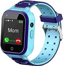 ساعت هوشمند 4G کودکان ، ساعت هوشمند تلفن کودکان با ردیاب GPS ، تماس ، زنگ هشدار ، گام شمار ، دوربین ، SOS ، صفحه لمسی WiFi بلوتوث ساعت مچی پسرانه دختران آیفون iOS iOS آندروید ، کودکان 3-12 ساله دانش آموزان هدیه
