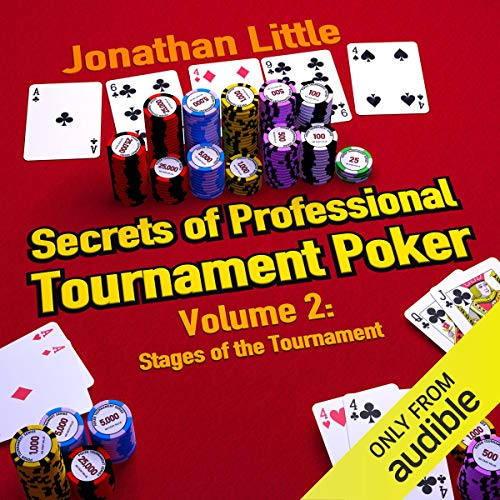 Secrets of Professional Tournament Poker, Volume 2 audiobook cover art