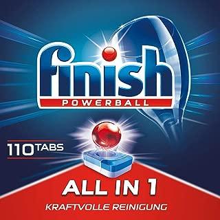 Finish 亮碟 洗碗机专用多效合一洗涤块,优惠装,餐具洗涤,机体清洁,110个装