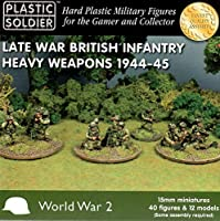 Plastic Soldier 15mm Late War British Infantry Heavy Weapons 1944-45 WW2015010