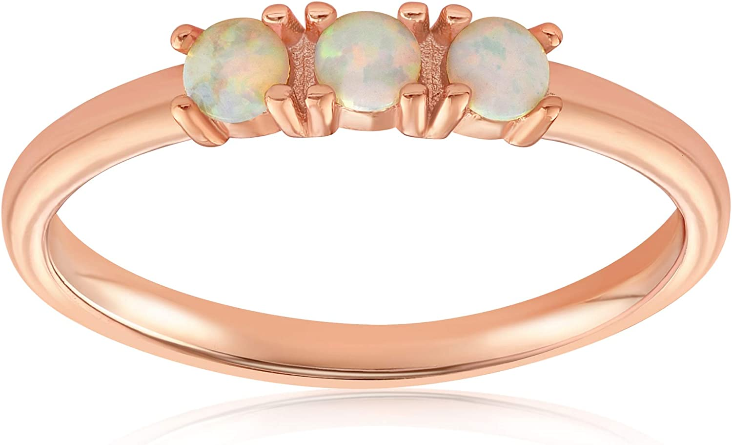 Blush Detroit Mall Bar Three Stone Simple Dots Fire White Ring – Challenge the lowest price of Japan Opal