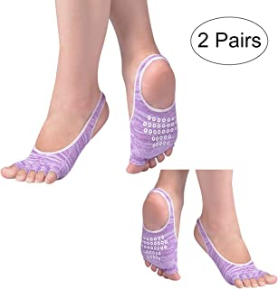 Xcellent Global Unisex 1-Pair Anti Slip Compression Ankle Socks for Plantar Fasciitis, Relief Pain, Swelling Reduce