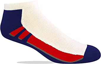Jox Sox Men's Cushioned Low Cut Performance Socks