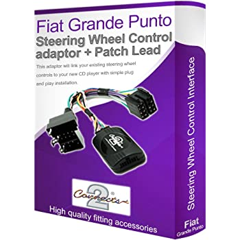 Autoleads PC99-X89 Adaptador para Interfaz para controlar la Radio Desde el Volante para Fiat Grande Punto