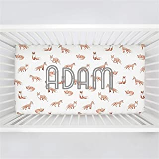 personalized fitted crib sheets