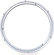 TamBee Heavy-Duty Mute 24 Inch Aluminum Lazy Susan Bearing Turntable Ring Swivel Plate Hardware for Heavy Loads