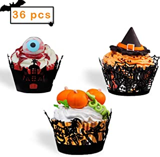 skull cupcake wrappers