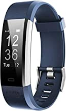 Fitness Tracker HR, Activity Tracker Watch with Heart Rate Monitor, Waterproof Smart Fitness Band with Step Counter, Calor...