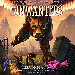 The Unwanteds audiobook cover art