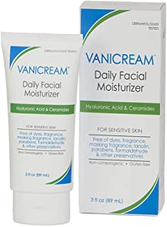 Sponsored Ad - Vanicream Facial Moisturizer With Hyaluronic Acid For Sensitive Skin, 3 Fl Oz