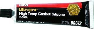 3M 08672 Ultrapro Black High Temp Silicone Gasket Tube - 3 oz.