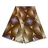 Julius Holland Stoff, afrikanischer Stoff, metallisch