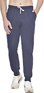 American-Elm Men's Stylish Cotton Track Pants, Track Joggers