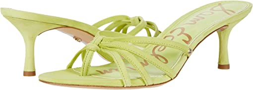 Lime Cocktail Suede Leather