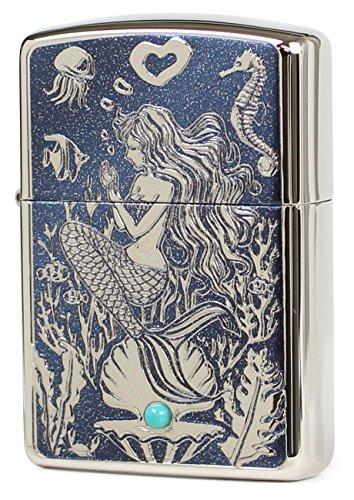 Great Price! Zippo Mermaid Turquoise
