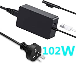 Surface Book 2 Charger,15V 6.33A 102W for Microsoft Surface Pro 3/4/5/6/7/X Charger,Surface Book,Surface Laptop/Surface Go Charger,SAA/UL/FCC Certificated with USB Port 1798