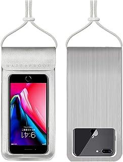 防水ケース WaterProofCase スマホ用 指紋認証/Face ID認証対応 防水携帯ケース 完全防水 タッチ可 気密性抜群 iPhoneXR/XS/X/8/8plus/7/7plus/6/6plus/Android 6.3インチ以下全...