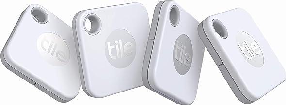 Tile Mate (2020) 電池交換版 4個パック 探し物/スマホが見つかる 紛失防止 日米シェアNo.1 スマートスピーカー対応[Compatible with Alexa認定製品]【日本正規代理店品】 RE-19004-AP