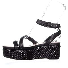 f95cab424d1 Avec Les Filles Womens Ava Open Toe Casual Platform Sandals