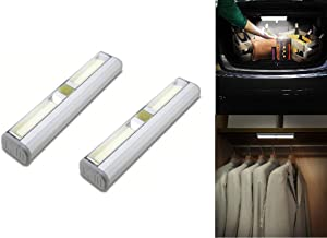 Brillar BR0019 BR0019 2 Pcs COB LED Light bar with Remote Control Install Victually Anywhere No Electrician Needed