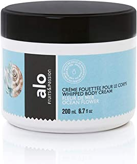 [Fruits and Passion] ALO Ocean Flower Whipped Body Cream, Enriched Lotion to Nourish and Hydrate - 200 mL