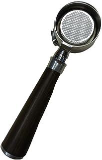 LOVIVER Les outils nus de Barista de Portafilter de 58mm usinent le double panier en bois pour l'accessoire de GAGGIA - Bo...