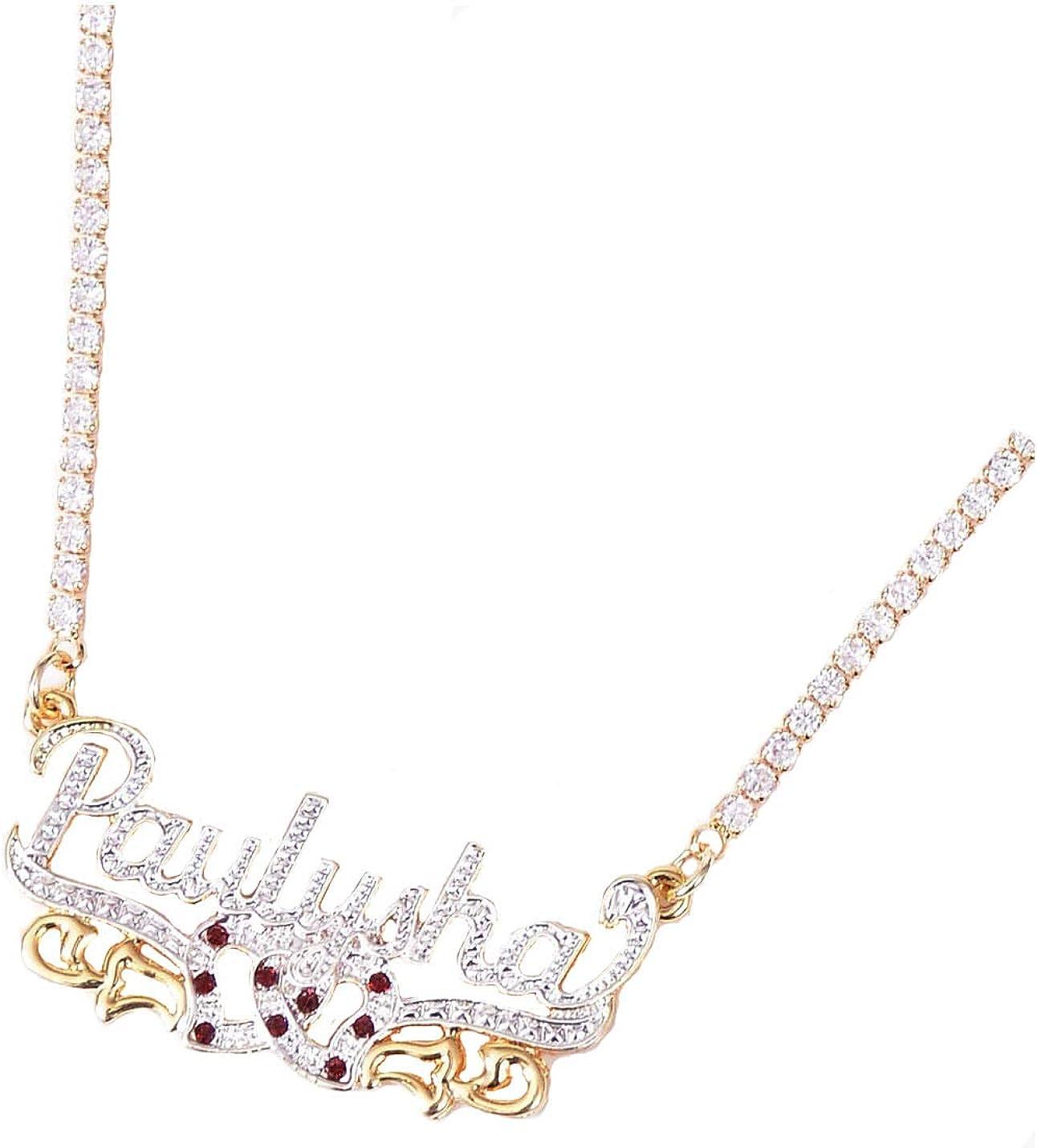 ywduoying Custom Name Jewelry for Women, Personalized Name Jewelry …