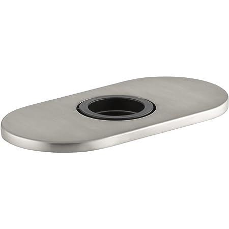 Kohler K 13478 B Vs Optional 4 Escutcheon Square Plate For Insight Faucet Vibrant Stainless