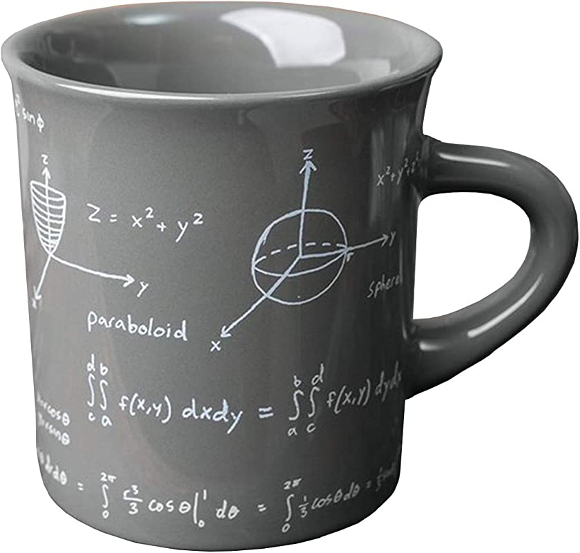 Fishs Eddy Math Equations Coffee And Tea Ceramic Mug