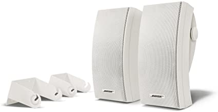 Bose 251 - Altavoces para exteriores (montaje en pared), color blanco