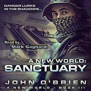 Sanctuary audiobook cover art