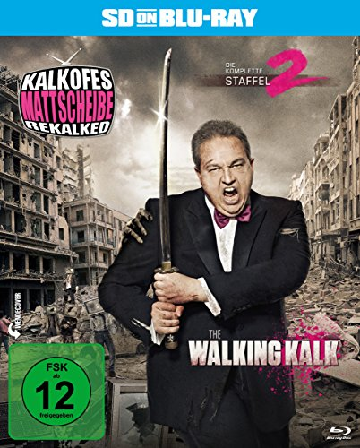 Kalkofes Mattscheibe Rekalked - Die komplette 2. Staffel: The Walking Kalk  (SD on Blu-ray)
