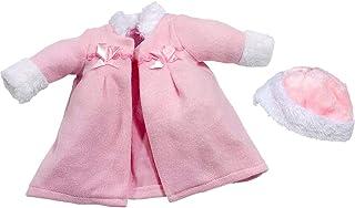Abrigo Rosa niña 38-42 cm (Bolsa