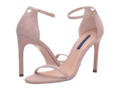Stuart Weitzman Nudistsong Ankle Strap Sandal (Dolce Suede) Women