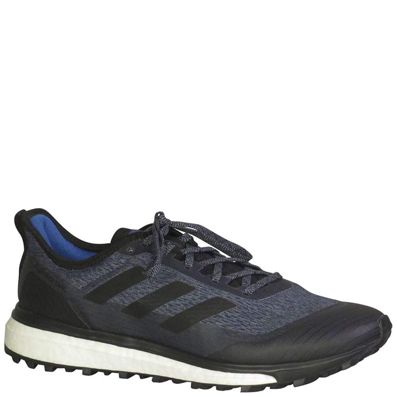 adidas - Zapatillas de Running para Hombre, Acero, Color Negro y Rojo, Gris (Steel/Core Black/Hi Res Red), 43.5 EU: Amazon.es: Zapatos y complementos