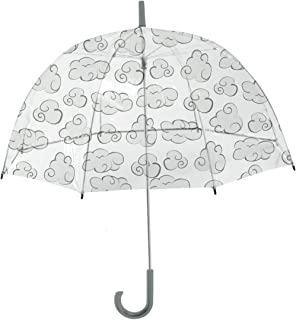 Rainbrella Kids Sky Collection Clouds Umbrella, Clear