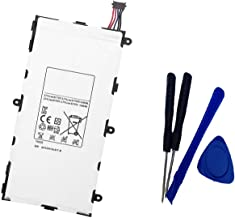 Aowe T4000E Replacement Tablet Pc Battery for Samsung Galaxy Tab 3 7.0 SM-T210R T210 T211 T217 T4000E Kids T2105 T2105 P3200 1588-7285 3.7V 4000mAh with Tools