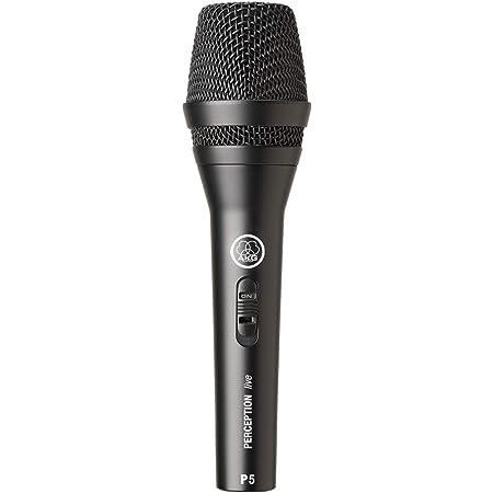 AKG P5 S - Micrófono dinámico (para voz), color negro
