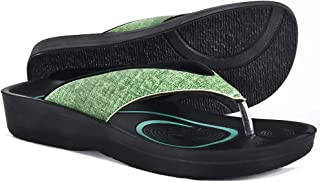 2cee33da5f0b3 AEROTHOTIC Original Orthotic Comfort Thong Style Sandals   Flip Flops for  Women with Arch Support for