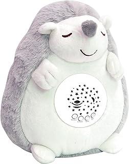 ロボットプラザ(ROBOT PLAZA) 寝かしつけ ぬいぐるみ プラネタリウム メロディー 心音 おもちゃ 出産祝い 内祝い 赤ちゃん ベビー キッズ 子供 誕生日 プレゼント (ハリネズミ)