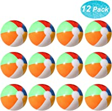 Lumiparty Inflatable Beach Balls(12PACK) 7.5