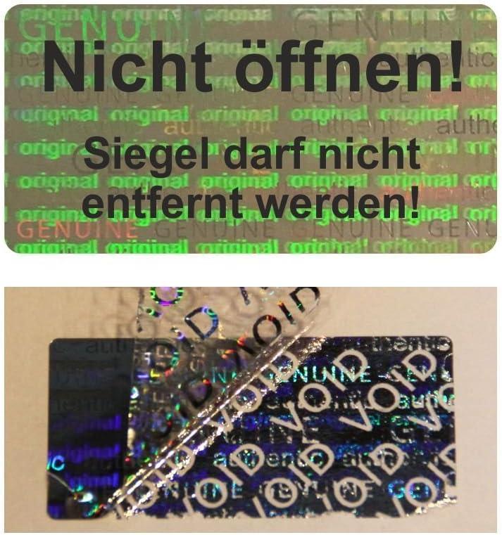 Hologramm VOID Sicherheitsetiketten Nicht /öffnen 1000 St/ück Wei/ß auf Rolle 40 x 20 mm