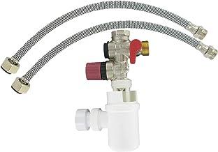 Set voor boiler (groep 3/4 inch (20x27), sifon, 2 netslangen