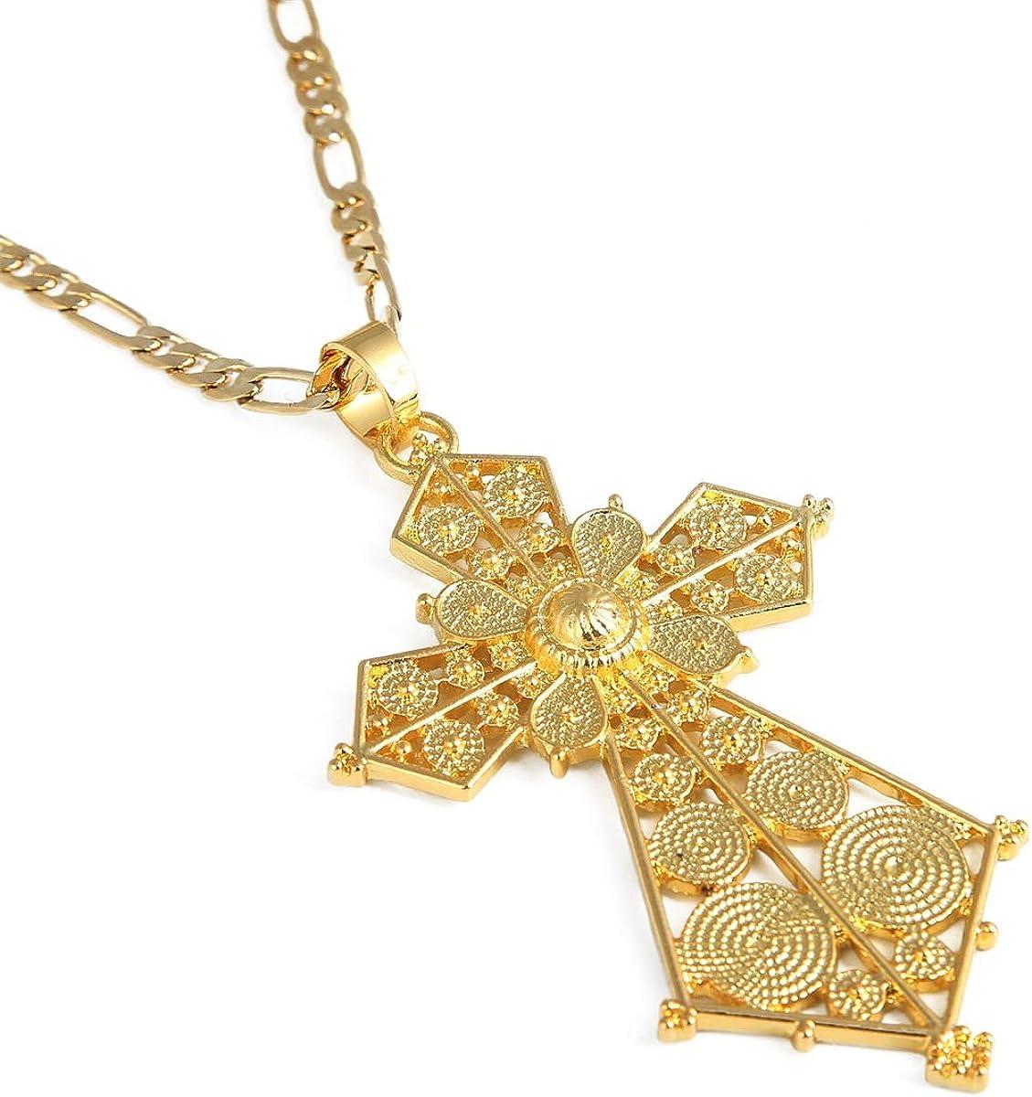 Ethiopian Pendant Jewelry for Women Eritrean African Fashion Wedding Jewelry Middle East Arab Jewelry