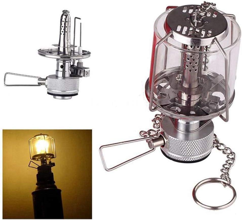 Outdoor Portable Camping Hiking Lantern Piezo Ignition Gas Tent Lamp Light USA
